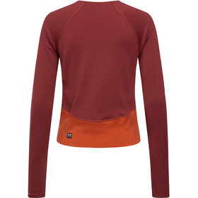 super.natural Super Sweat-shirt Femme, cabernet/bossa nova